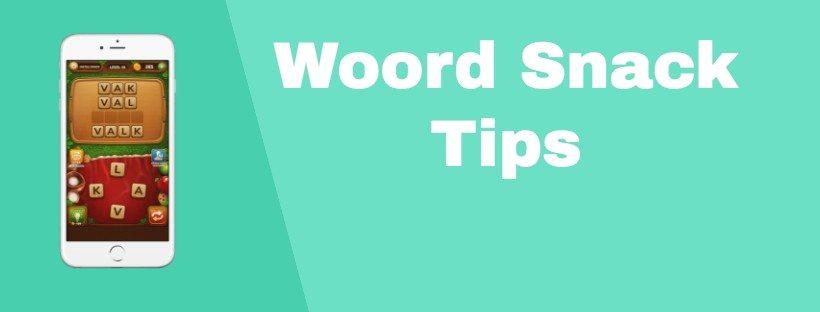 5 handige tips voor Woord Snack die het spel eenvoudiger maken (+Bonus)